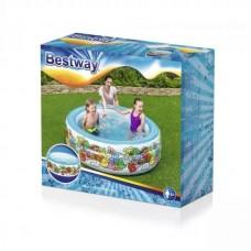 حوض سباحة قابل للنفخ دائري 3 طبقات - 152 × 51 سم - 26-51121
